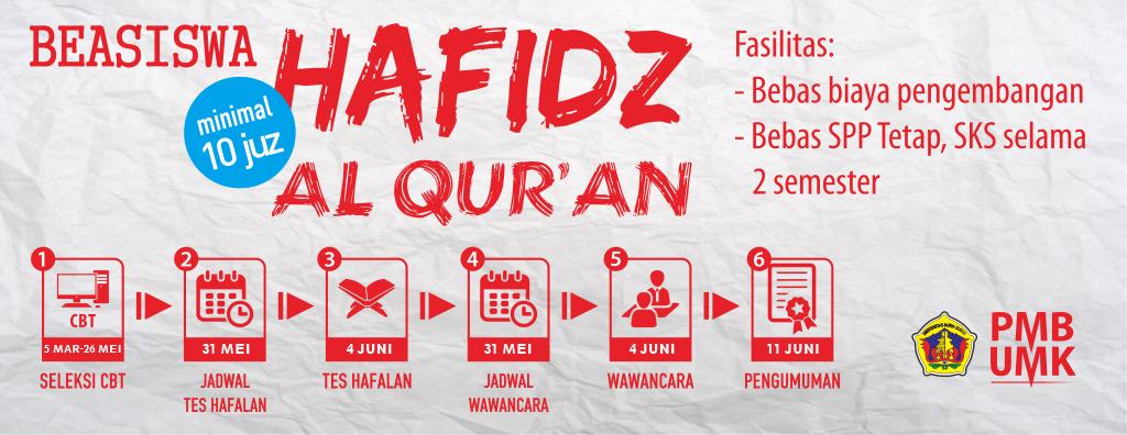 Beasiswa Hafidz Al-Qur'an